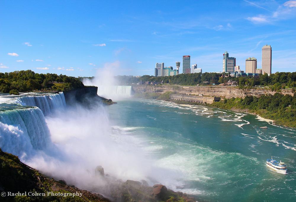 """Niagara Falls"" 4<br /> <br /> Niagara Falls USA.<br /> <br /> Waterfalls by Rachel Cohen"