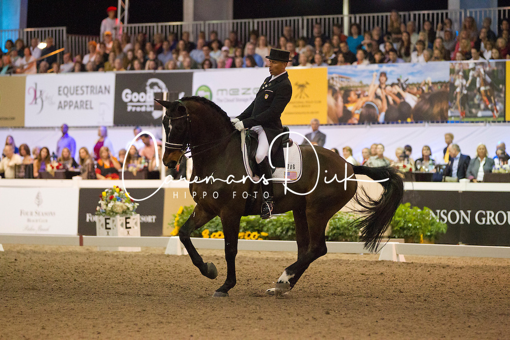 Peters Steffen (USA) - Ravel<br /> World Dressage Masters Wellington 2012<br /> © Hippo Foto - Cealy Tetly
