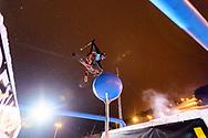 McRae Williams during Men's Ski Slopestyle Finals during 2017 X Games Norway at Hafjell Alpinsenter in Øyer, Norway. ©Brett Wilhelm/ESPN