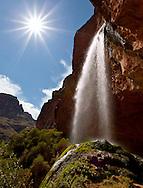 Ribbon Falls, North Kaibab Trail, Grand Canyon, AZ