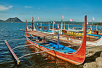 Taal Volcano Philippines-April 5, 2015 : Taal Volcano in Luzon Philippines