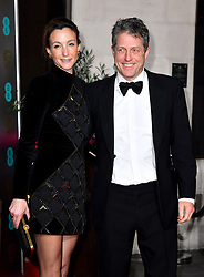 Anna Elisabet Eberstein and Hugh Grant attending the after show party for the 73rd British Academy Film Awards.