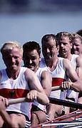 Barcelona Olympics 1992 - Lake Banyoles, SPAIN, GER M8+ Bronze Medallist, BAAR Roland, EICHHOLZ Armin, KIRCHHOFF Detlef, KLEIN Manfred Willi, RABE Bahne,RICHTER Frank Joerg, SENNEWALD Hans, STREPPELHOFF, Thorsten, WESSLING Ansga, Photo: Peter Spurrier