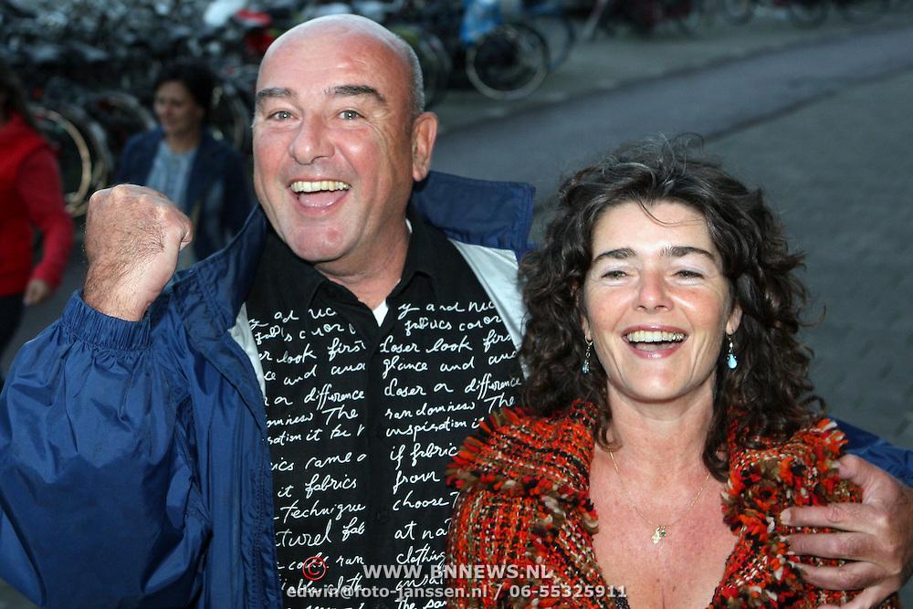 NLD/Amsterdam/20070910 - Voorpremiere Sextet, Peter de Bie en partner Dieuwertje Blok