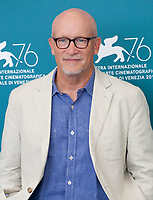 Venice, Italy, 31st August 2019, Director Alex Gibney at the photocall for the film Citizen K at the 76th Venice Film Festival, Sala Grande. Credit: Doreen Kennedy/Alamy Live News
