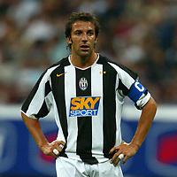Milano 27/7/2004 Trofeo Tim - Tim tournament <br /> <br /> Alessandro Del Piero Juventus<br /> <br /> Inter Milan Juventus <br /> <br /> Inter - Juventus 1-0<br /> <br /> Milan - Juventus 2-0<br /> <br /> Inter - Milan 5-4 d.cr - penalt.<br /> <br /> <br /> <br /> Photo Andrea Staccioli Graffiti
