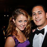 NLD/Amsterdam/20101209 - VIP avond Miljonairfair 2010, Liza Sips en Joel Davans