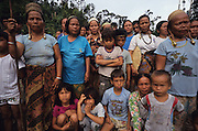 LOGGING DAYAK BLOCKADE, MALAYSIA. Sarawak, Borneo, South East Asia. Dayaks blockading logging road. Tropical rainforest and one of the world's richest, oldest eco-systems, flora and fauna, under threat from development, logging and deforestation. Home to indigenous Dayak native tribal peoples, farming by slash and burn cultivation, fishing and hunting wild boar. Home to the Penan, traditional nomadic hunter-gatherers, of whom only one thousand survive, eating roots, and hunting wild animals with blowpipes. Animists, Christians, they still practice traditional medicine from herbs and plants. Native people have mounted protests and blockades against logging concessions, many have been arrested and imprisoned.