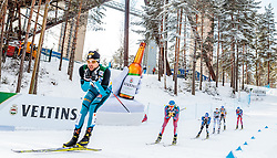 24.02.2017, Lahti, FIN, FIS Weltmeisterschaften Ski Nordisch, Lahti 2017, Nordische Kombination, Langlauf, im Bild Maxime Laheurte (FRA) // Maxime Laheurte of France during Cross Country of Nordic Combined competition of FIS Nordic Ski World Championships 2017. Lahti, Finland on 2017/02/24. EXPA Pictures © 2017, PhotoCredit: EXPA/ JFK