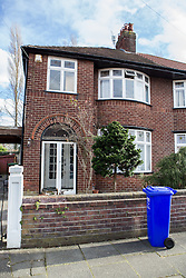 © Licensed to London News Pictures . 13/02/2014 . Manchester , UK . GV of 78 Brooklawn Drive . Police at the home of Anil Khalil Raoufi (aka Abu Layth ) at 78 Brooklawn Drive in Didsbury , Manchester today (13th February 2014) . Raoufi , a British Muslim , is reported to have been killed in fighting in Syria . Photo credit : Joel Goodman/LNP