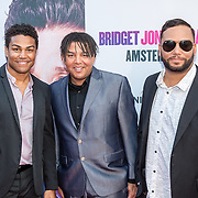 NLD/Amsterdam/20160913 - inloop premiere Bridget Jones's Baby, 3T's, Taj Jackson, Taryl Jackson, TJ Jackson