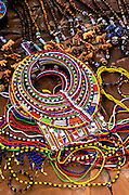 Image of native crafts at the Masai Mara National Reserve in Kenya by Randy Wells