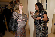 CLEMENTINE FRASER; TAVLEEN SINGH;, Aatish Taseer  book launch party for his new book Stranger To History. Travel book asks what it means to be a Muslim in the 21st century. Hosted by Gillon Aitken. Kensington, London. 30 March 2009
