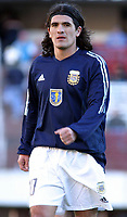 09/07/03 - THE CELEBRATION OF THE 25th ANNIVERSARY OF THE WORLD CUP FIFA 1978 , WHERE AGENTINA  WON  - ARGENTINA.<br />The celebration was a friendly match  that assemble different players generations of the argentinean national selection team. <br />Ariel Ortega.<br />©A.K/Argenpress.com
