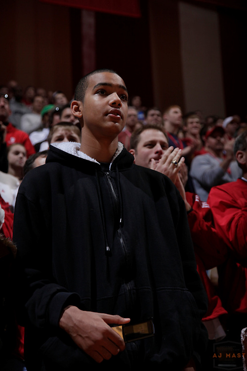 12 December 2009: Recruit Jeremiah Davis as the Indiana Hoosiers played the Kentucky Wildcats in a college basketball game in Bloomington, Ind.