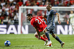 September 19, 2018 - Na - Lisbon, 19/09/2018 - Sport Lisboa e Benfica received the Fu√üball-Club Bayern München tonight at the Luz stadium in Lisbon in the first game of the 2018/19 Champions League group stage. Pizzi; Franck Ribéry  (Credit Image: © Atlantico Press via ZUMA Wire)