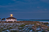 Old Port Boca Grande Lighthouse - Now a museum, this Gasparilla Island Lighthouse on Florida's West Coast is said to be haunted by not one, but two ghosts!