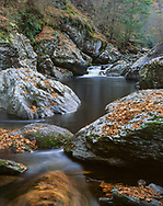 Water Through The Gorge, Great Smoky Mountains National Park, Tennessee