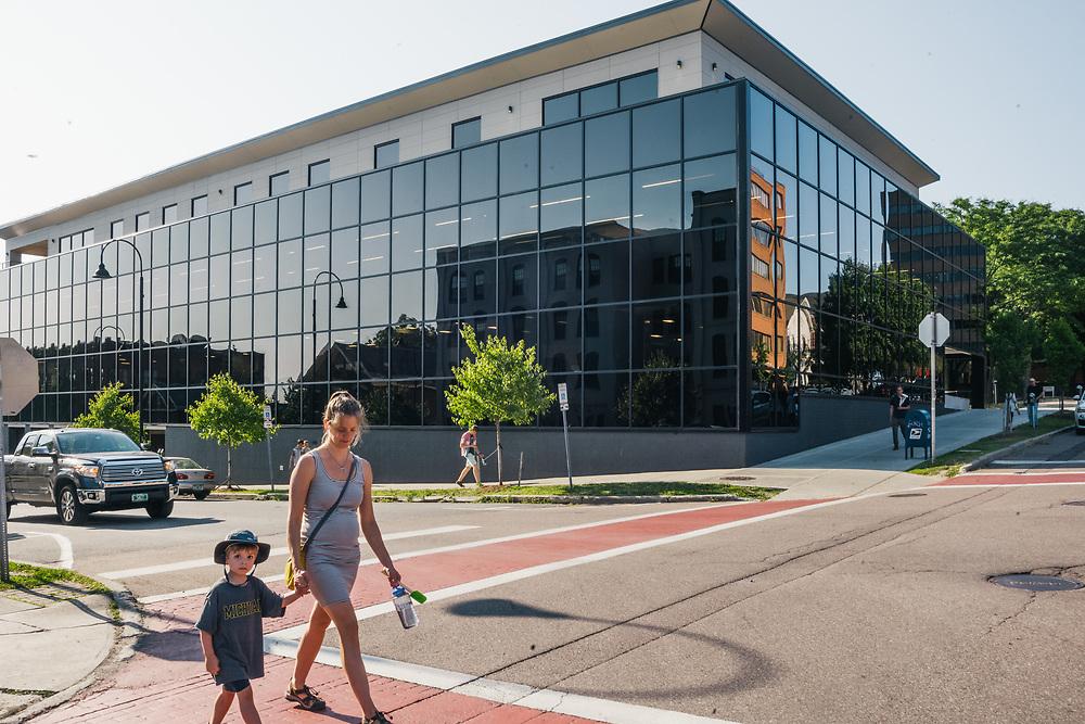 BURLINGTON, VT – AUGUST 1, 2019: Scenes from the Athenahealth office in Burlington.