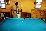 """galmh """"A Bridge to Nowhere""""---Ezekiel Bodrick's Last Stop Convenience Store opens at 6 p.m. and stays open to 11 p.m., """"if the boys come to shoot pool."""" The coolers hold beer and eggs; the jukebox in the back plays """"The Best of BB King."""""""