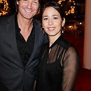 NLD/Amsterdam/201112119 - Premiere Spuiten & Slikken, Rick Engelkes en partner Annemarie Paol