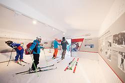 17.01.2017, Hahnenkamm, Kitzbühel, AUT, FIS Weltcup Ski Alpin, Kitzbuehel, Abfahrt, Herren, Streckenbesichtigung, im Bild im Starthaus // at the Start during the course inspection for the men's downhill of FIS Ski Alpine World Cup at the Hahnenkamm in Kitzbühel, Austria on 2017/01/17. EXPA Pictures © 2017, PhotoCredit: EXPA/ Johann Groder