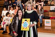 Prinses Laurentien tijdens de jubileumviering van het 100-jarig bestaan van de Openbare Bibliotheek Amsterdam.<br /> <br /> Princess Laurentien during the jubilee celebration of the 100th anniversary of the Amsterdam Public Library.