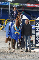 Arvidsson Niklas (SWE) - Hasard 1245<br /> Final 7 years<br /> FEI World Breeding Jumping Championships for Young Horses - Lanaken 2014<br /> © Dirk Caremans