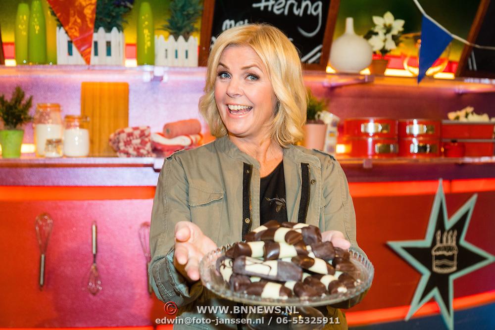 NLD/Hilversum/20161024 - Nieuw seizoen voor Carlo & Irene TV Kantine,