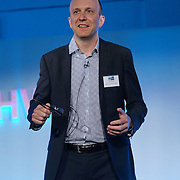 London,England,UK : 20 th June 2016 : Speaker Mike Phillips: Head of Simulation, McLaren Applied Technologies at the London Technology Week 2016 opening press day at The Yard,Worship Street, London. Photo by See Li
