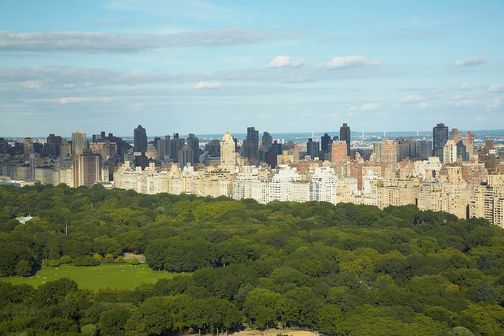 View of Central Park from 25 Columbus Circle, 56th floor