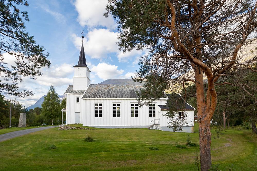 Skjomen kirke er en langkirke fra 1893 i Narvik kommune, Nordland fylke.
