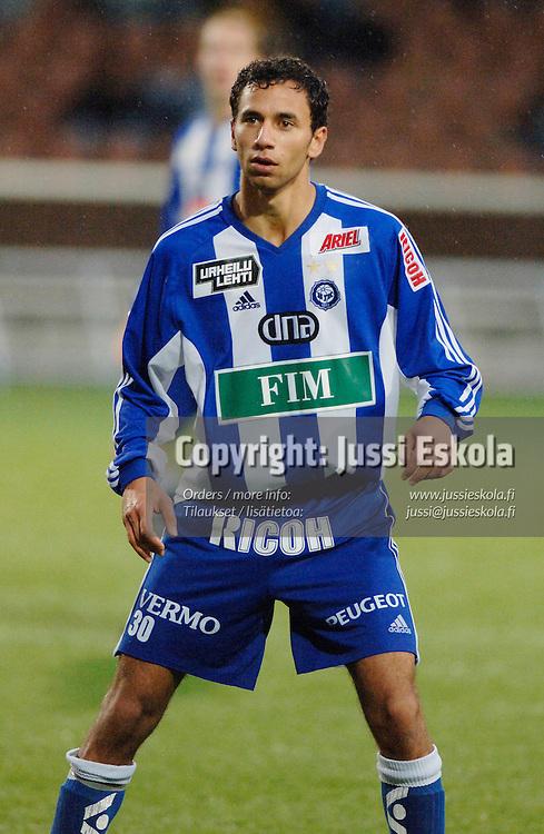 Adel Eid, HJK. &#xA;2005.&#xA;Veikkausliiga.&#xA;Photo: Jussi Eskola<br />