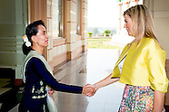 QUEEN MAXIMA VISITS MYANMAR DAY 3