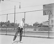"""Wilbur Hood"" (Washington High tennis 1916)"