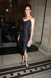 ERIN O'CONNOR at the British Fashion Awards 2006 sponsored by Swarovski held at the V&A Museum, Cromwell Road, London SW7 on 2nd November 2006.<br /><br />NON EXCLUSIVE - WORLD RIGHTS