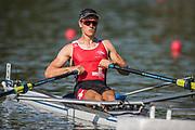 Plovdiv BULGARIA. 2017 FISA. Rowing World U23 Championships. <br /> SUI BLM1X. BUEHRER, Kaspar<br /> Wednesday. PM,  Heats 17:50:06  Wednesday  19.07.17   <br /> <br /> [Mandatory Credit. Peter SPURRIER/Intersport Images].