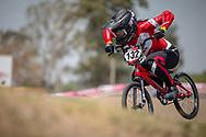 #132 (YABUTA Jui) JPN during practice at Round 9 of the 2019 UCI BMX Supercross World Cup in Santiago del Estero, Argentina