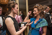 MARINA COBBE; SYBILLE RUSSELL; The Royal Caledonian Ball 2015. Grosvenor House. Park Lane, London. 1 May 2015.