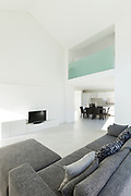 Architecture, interior of a modern house, living room