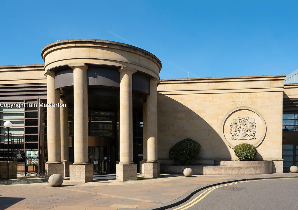 Exterior of Glasgow High Court, Scotland ,UK