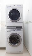Detail of washing machine and dryer