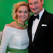 NLD/Scheveningen/20111106 - Premiere musical Wicked, Mariska van Kolk en partner Edgar Peer