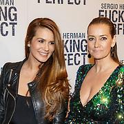 NLD/Amsterdam/20150309 - Premiere Fucking Perfect, Laura Zeeuwen en Monique Mathijssen