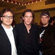 Radio 2 Gala vh Nederlandse Lied 2005, Guus Meeuwis, Johnny de Mol en Tjeerd Oosterhuis