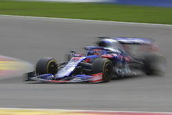 September 1, 2019, Spa Francorchamps, Belgium: Toro Rosso Driver DANIIL KVIAT (RUS) in action during the race of the Formula one Johnnie Walker Belgian Grand Prix at the SPA Francorchamps circuit - Belgium..Charles Leclerc wins his first Formula One Grand Prix (Credit Image: © Pierre Stevenin/ZUMA Wire)