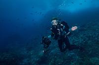 Sylvia Earle, Mission Blue, Cocos , Cocos  Hope Spot. Dr. Sylvia Earle explores a Cocos
