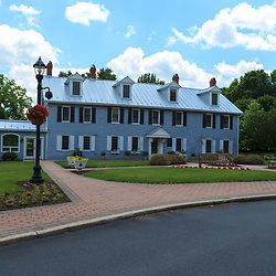 Hershey, PA, USA - June 19, 2013: The Hershey Homestead, which is where Milton S. Hershey was born in 1857. The property is in the candy maker's town that is named after him.