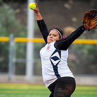071513       Brian Leddy<br /> Gallup's Lindsey Taylor winds up a pitch during a the Big League softball tournament game against Ft Defiance Monday.