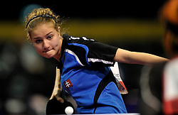 08-05-2011 TAFELTENNIS: WORLD TABLE TENNIS CHAMPIONSHIPS: ROTTERDAM<br /> Eva Jurkova SVK<br /> ©2011-FotoHoogendoorn.nl